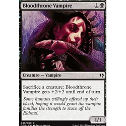 Magic löskort: Zendikar vs Eldrazi: Bloodthrone Vampire