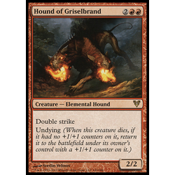 Magic löskort: Avacyn Restored: Hound of Griselbrand