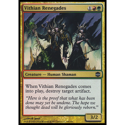 Magic löskort: Alara Reborn: Vithian Renegades (Foil)