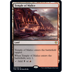 Magic löskort: Theros: Beyond Death: Temple of Malice