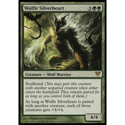 Magic löskort: Avacyn Restored: Wolfir Silverheart (Foil)