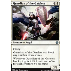 Magic löskort: Conspiracy: Take the Crown: Guardian of the Gateless (Foil)