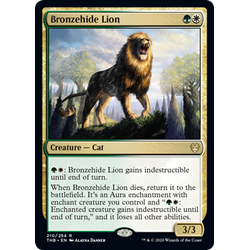 Magic löskort: Theros: Beyond Death: Bronzehide Lion