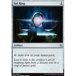 Magic löskort: Commander Anthology: Sol Ring