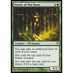 Magic löskort: Zendikar: Oracle of Mul Daya