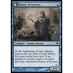 Magic löskort: Innistrad: Delver of Secrets