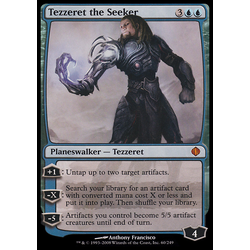 Magic löskort: Shards of Alara: Tezzeret the Seeker