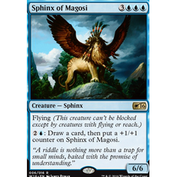 Magic löskort: Welcome Deck 2016: Sphinx of Magosi