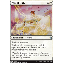 Magic löskort: Commander Anthology: Vow of Duty