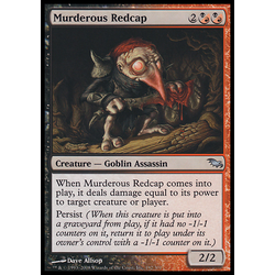 Magic löskort: Shadowmoor: Murderous Redcap
