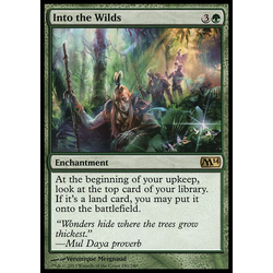 Magic löskort: Magic 2014: Into the Wilds
