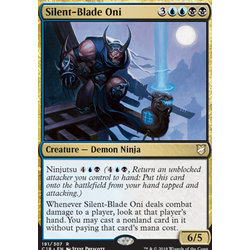 Magic löskort: Commander 2018: Silent-Blade Oni