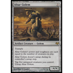Magic löskort: Eventide Altar Golem
