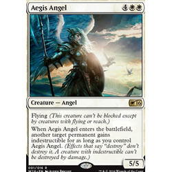 Magic löskort: Welcome Deck 2016: Aegis Angel