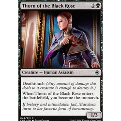 Magic löskort: Conspiracy: Take the Crown: Thorn of the Black Rose