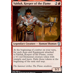 Magic löskort: Dominaria: Valduk, Keeper of the Flame