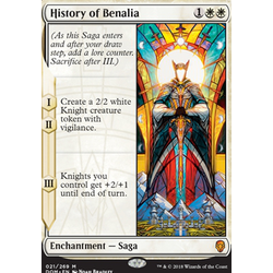 Magic löskort: Dominaria: History of Benalia