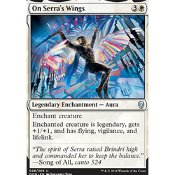 Magic löskort: Dominaria: On Serra's Wings