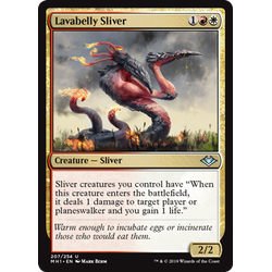 Magic löskort: Modern Horizons: Lavabelly Sliver