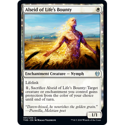 Magic löskort: Theros: Beyond Death: Alseid of Life's Bounty