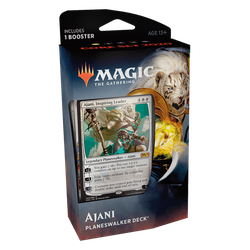 Magic The Gathering: Core 2020 (M20) Planeswalker Deck - Ajani (white)