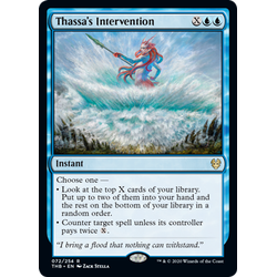 Magic löskort: Theros: Beyond Death: Thassa's Intervention