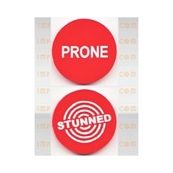 Fantasy Football Accessories - Prone/Stunned Token (1st) (Impact)