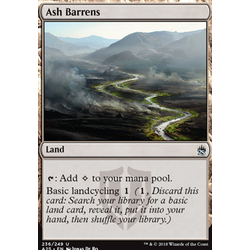 Magic löskort: Masters 25: Ash Barrens