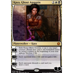 Magic löskort: Conspiracy: Take the Crown: Kaya, Ghost Assassin