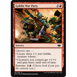 Magic löskort: Modern Horizons: Goblin War Party