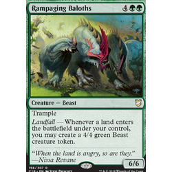 Magic löskort: Commander 2018: Rampaging Baloths