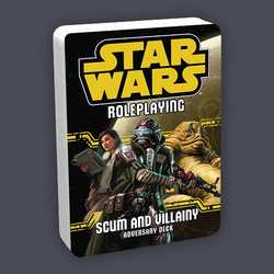 Star Wars: Age of Rebellion / Edge of the Empire: Scum and Villainy Adversary Deck