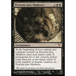 Magic löskort: Avacyn Restored: Descent into Madness