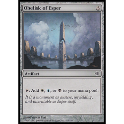 Magic löskort: Shards of Alara: Obelisk of Esper