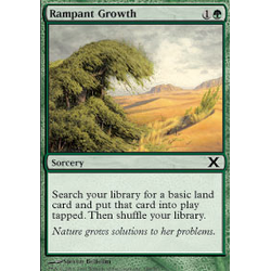 Magic löskort: 10th Edition: Rampant Growth