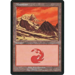Magic löskort: FNM Promo: Mountain - Euro Land (Mont Blanc, FR)