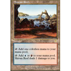 Magic löskort: Apocalypse: Shivan Reef