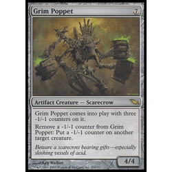 Magic löskort: Shadowmoor Grim Poppet