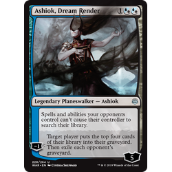 Magic löskort: War of the Spark: Ashiok, Dream Render