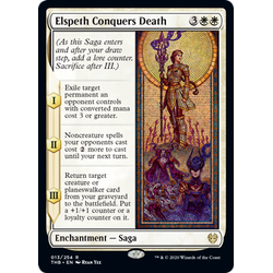 Magic löskort: Theros: Beyond Death: Elspeth Conquers Death