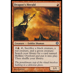 Magic löskort: Shards of Alara: Dragon's Herald
