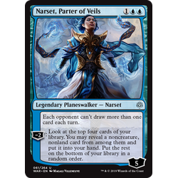 Magic löskort: War of the Spark: Narset, Parter of Veils