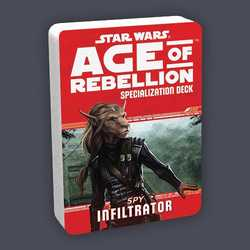 Star Wars: Age of Rebellion: Specialization Deck - Spy Infiltrator