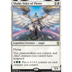 Magic löskort: Dominaria: Shalai, Voice of Plenty