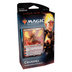 Magic The Gathering: Core 2020 (M20) Planeswalker Deck - Chandra (red)