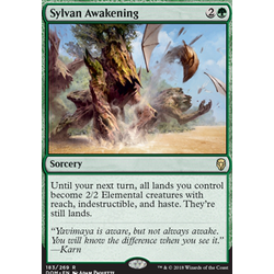 Magic löskort: Dominaria: Sylvan Awakening