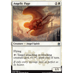 Magic löskort: Masters 25: Angelic Page