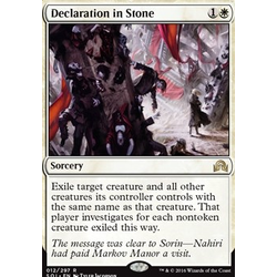 Magic löskort: Shadows over Innistrad: Declaration in Stone