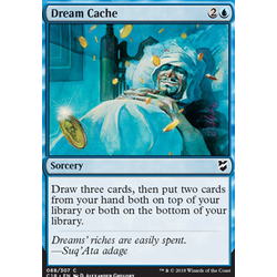 Magic löskort: Commander 2018: Dream Cache