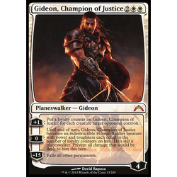 Magic löskort: Gatecrash: Gideon, Champion of Justice